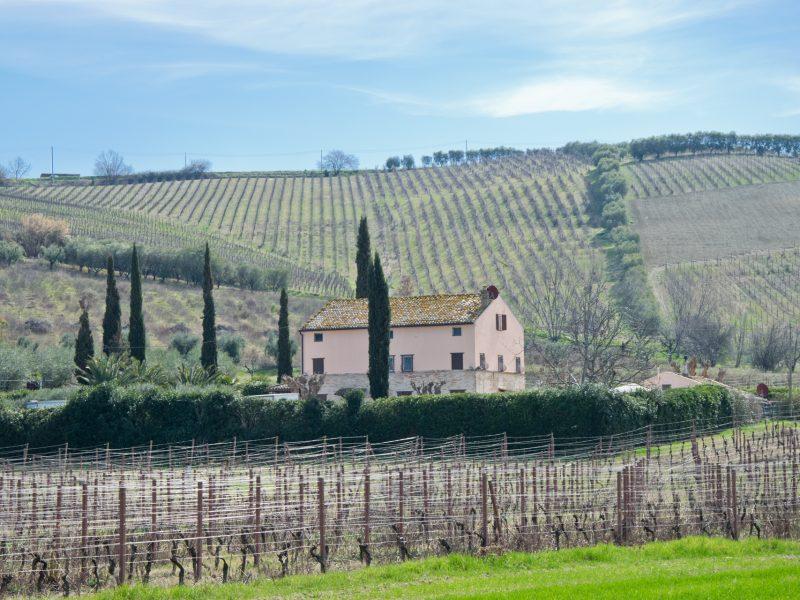 L'Agenzia Immobiliare Puzielli propone casale ristrutturato in vendita a Fermo nella Marche