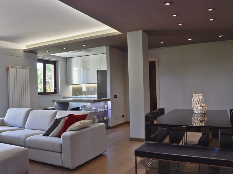 L'Agenzia Immobiliare Puzielli propone appartamento con giardino in vendita a Montegranaro