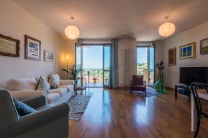 Appartamento con stupenda vista mare in vendita a Porto San Giorgio